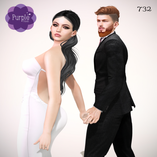 PURPLE POSES - Couple 732 [ad]