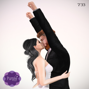 PURPLE POSES - Couple 733 [ad]