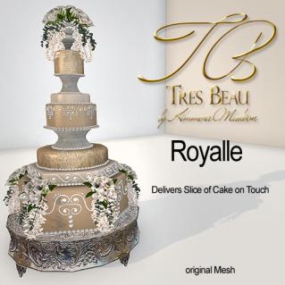 Tres Beau Cake Royalle