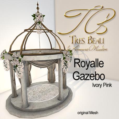 Tres Beau Royalle Gazebo Ivory Pink