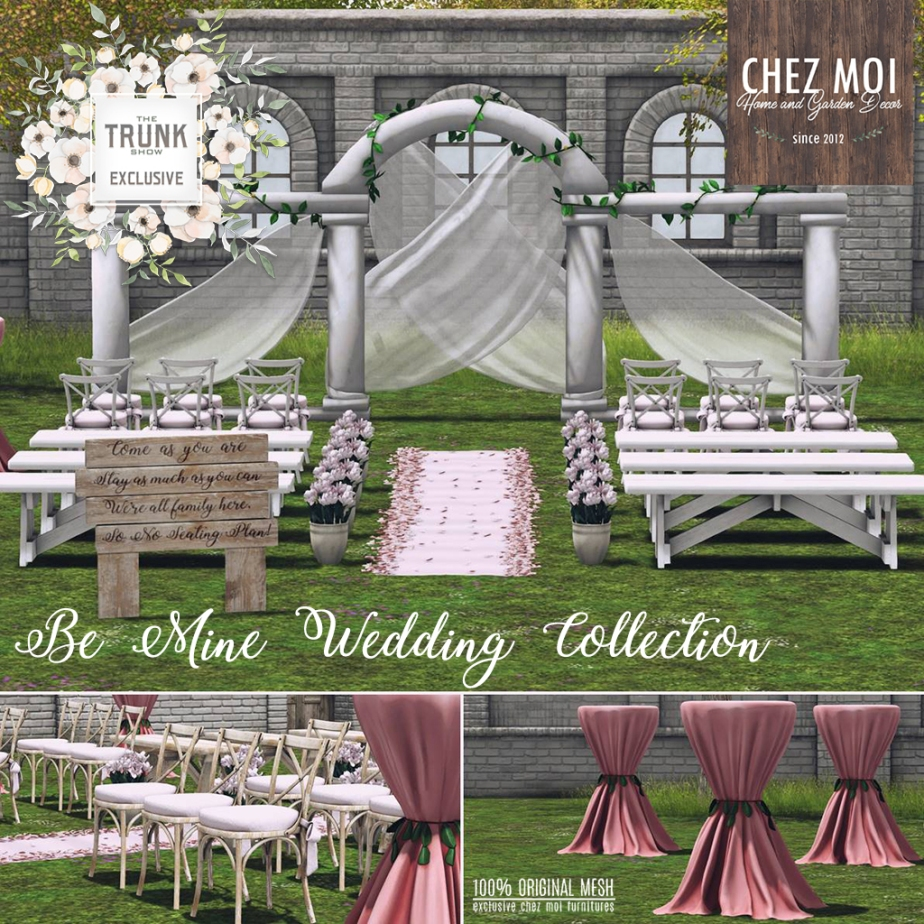 Be Mine Wedding Collection Trunk Show CHEZ MOI (1)