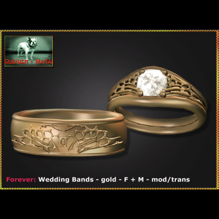 Bliensen - Forever - Wedding Bands - gold - F+M Ad