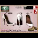 Bliensen - Heartbeat - High Heels - white Ad