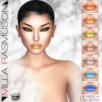 MRM _Candra_ Lipstick for Catwa Head