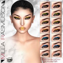 MRM _Kamaria_ Eyes Makeup for Catwa Head