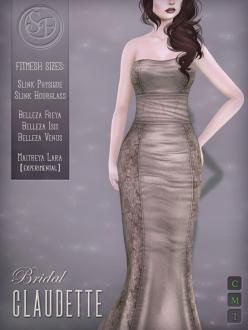 Senzafine . Claudette Gown Bridal Edition Poster
