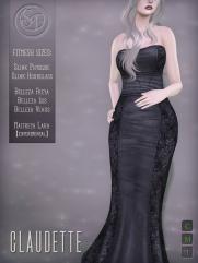 Senzafine . Claudette Gown Poster