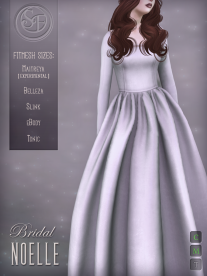 Senzafine . Noelle Gown Bridal Edition Poster