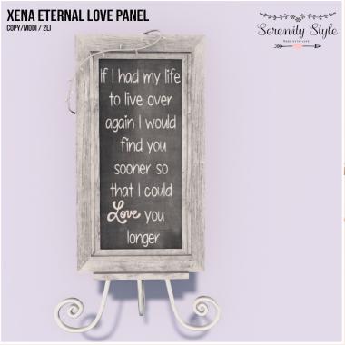 Serenity Style-Xena Eternal Love Panel