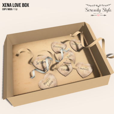 Serenity Style- Xena Love Box