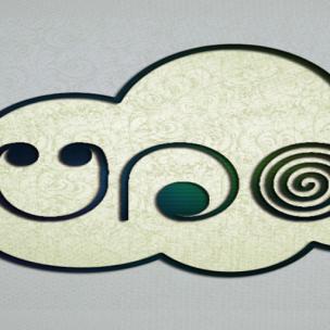 Una logo scuare