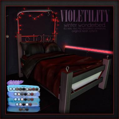 Violetility - Winter Wonderbed