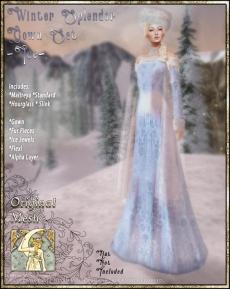Winter Splendor Gown Set-Ice-Promo Art
