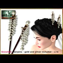 Bliensen - Snowfall - hairpins Ad