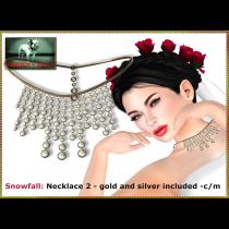 Bliensen - Snowfall - necklace 2 Ad
