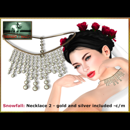 Bliensen - Snowfall - necklace 2 Ad