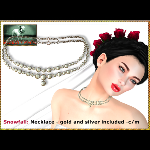 Bliensen - Snowfall - necklace Ad