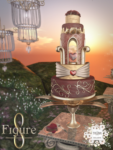 Figure 8 Trunk show ad Wedding cake
