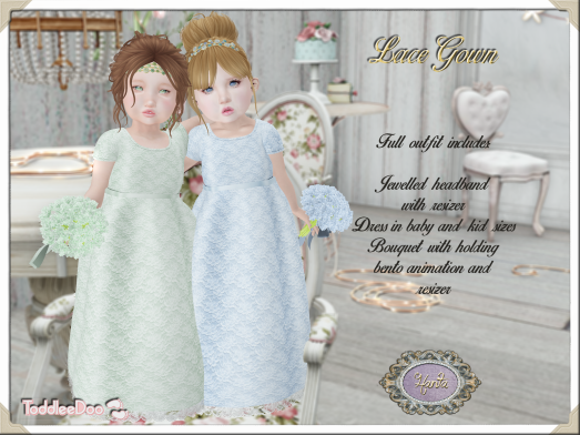 Hanta - Lace Gown for TD