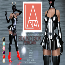 #LANA __BOUNDBOX - The Violet Latex AD