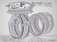 Moonlight In Love_WeddingRingSets