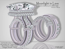 Moonlight In Love_WeddingRingSets