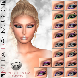 MRM _Kiran_ Eyes Makeup for Catwa Head