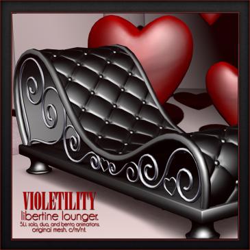 Violetility - Libertine Lounger