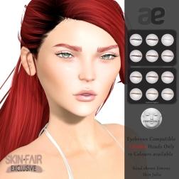 [ae] Eyebrows Lelutka Set 3 SF