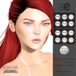 [ae] Eyebrows Lelutka Set 3 SF