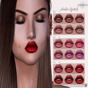 Ascendant - Amber lipstick CATWA