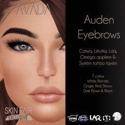 Avada~ Auden Brows