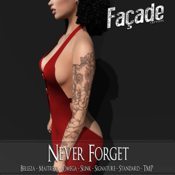 .Facade. __ Never Forget Ad