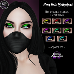 ._IM_. Neon Halo Eyeshadows ~ SF Exclusive