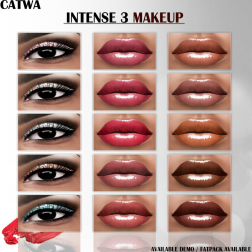 Intense 3 Makeup for CATWA