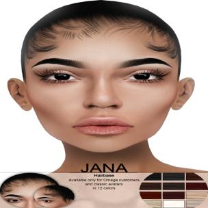 Jana Hairbase for OMEGA