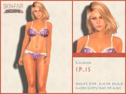 Kanon Mesh - Female - Iris SF