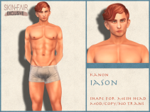Kanon Mesh - Male - Iason SF