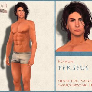 Kanon Mesh - Male - Perseus SF