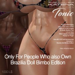 Katena Bimbo edition Tonic