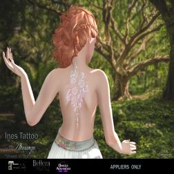 MESANGE - Ines Tattoo SKIN FAIR 18