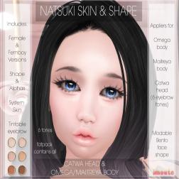 Natsuki Skin