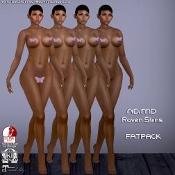 Raven skin FATPACK ventor pic covered
