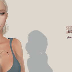 Tea Aries tattoo Ad - Skin Fair Exclusive