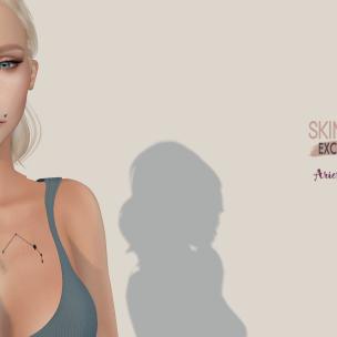 Tea Aries tattoo Ad - Skin Fair Exclusive