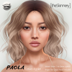 [theSkinnery] Paola (Catwa Applier) @ SF 2018