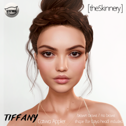 [theSkinnery] Tiffany (Catwa Applier) @ SF 2018