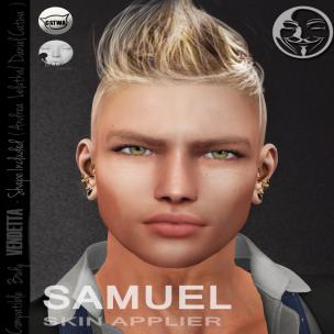 [ VENDETTA ] - Exclusive Skin Fair Samuel ( Lelutka )