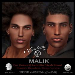 [ VENDETTA ] Malik Skin for LelutKa _ Catwa