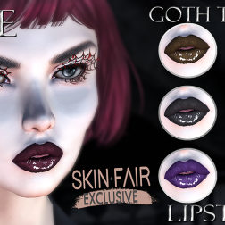 VENGE - Catwa & Omega - Goth Tones Lipstick_Skinfair_resize